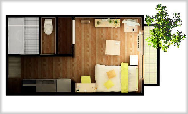 正方形と長方形の部屋!実際はどっちが住みやすいか比較してみた結果