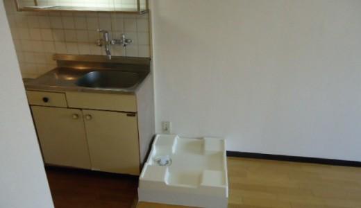 一人暮らしの玄関横とベランダの外置き洗濯機物件の使用感の違い