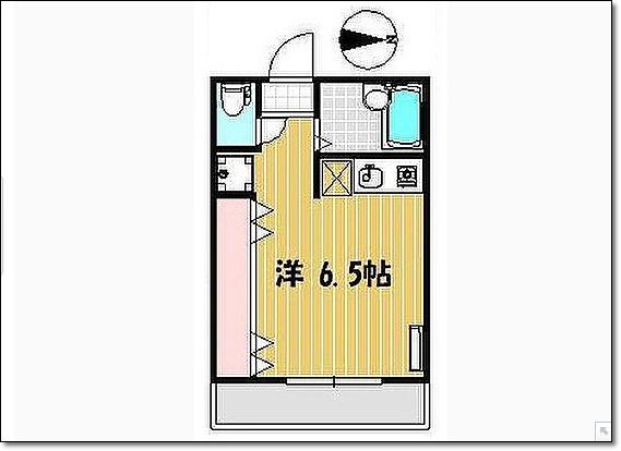 キッチンと室内が一体型