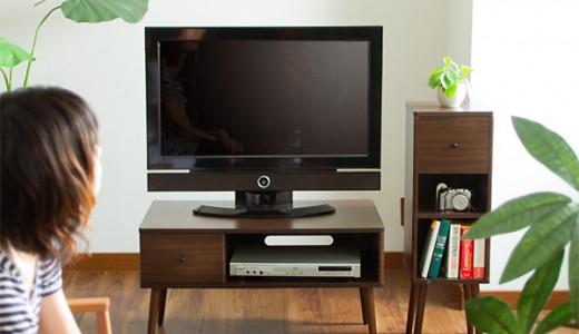 一人暮らしにテレビ台はいらない?選び方や代用できるアイテム紹介