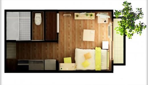 正方形と長方形の部屋!住みやすさの比較とレイアウトを考えてみた