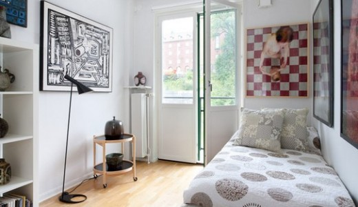 一人暮らしの6畳の部屋をおしゃれに見せるレイアウトコーディネート例