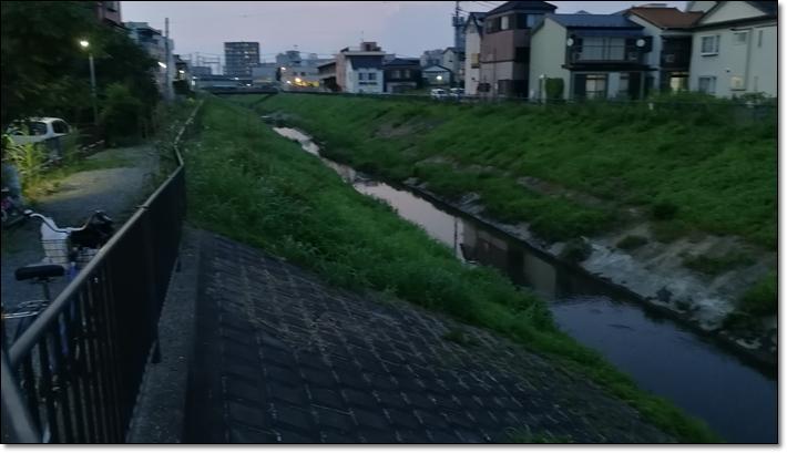 与野本町東口川